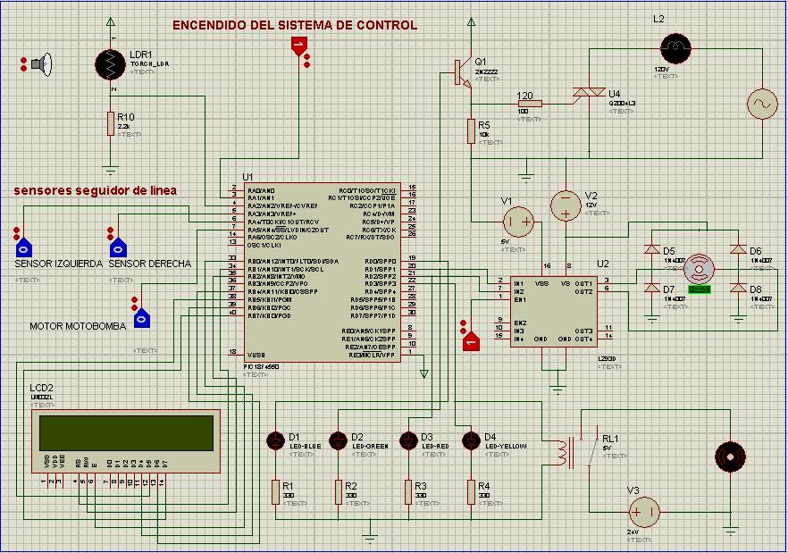 Resultado de imagen para simulacion proteus