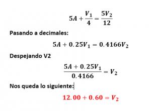 ecuación nodo 2
