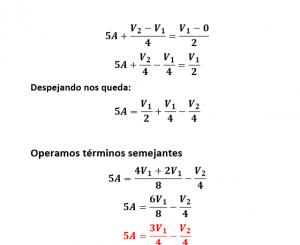 solución de la ecuación