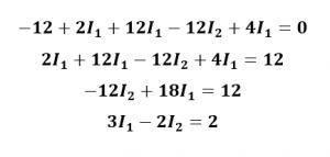 ecuación de malla