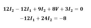 ecuación de malla 2