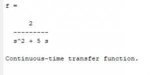 funcion de transferencia de pulso