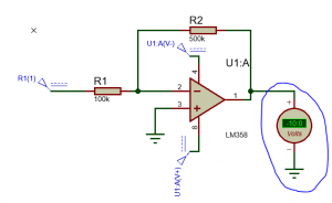Amplificador Operacional: Amplificador Inversor.