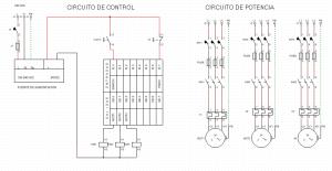 plano eléctrico y de control