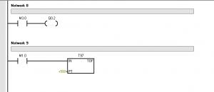 PLC: Arranque secuencial de 3 motores trifásicos.