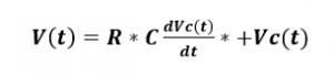reemplazo de las derivadas en la ecuacion de malla
