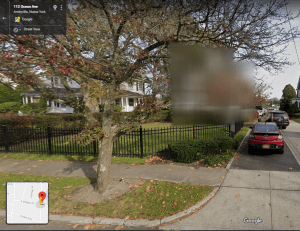 Amityville ya no es visible en google Maps