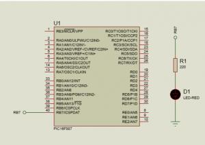 circuito led intermitente