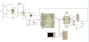 circuito de adquisición de datos de temperatura