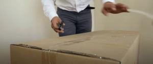 apertura de la caja