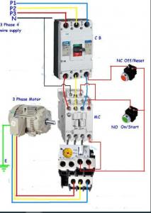 Figura 7: conexión trifásica