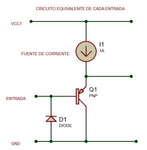 circuito tipico de entrada