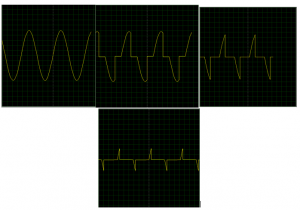 Formas de onda obtenidas TRIAC DIAC