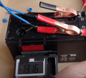 Batería Cargando.