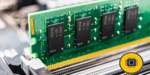 memoria RAM en su ranura